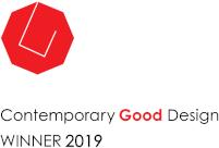 2019- Wenner vir kontemporêre goeie ontwerp