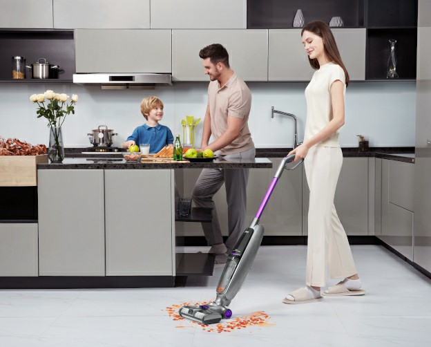 JIMMY releases PowerWash HW8 Pro cordless vacuum&washer to conquer dirty floor cleaning